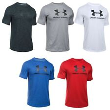 Under Armour Mens Heatgear Sportstyle Logo Fitness T-Shirt Tee