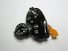 For Nikon Coolpix P520 P530 Top Cover Mode Dial Shutter Button Flex Cable Black