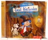 Graf Koriander lernt fliegen + Tolles Hörbuch für Kinder auf 2 CD Andrea Schütze