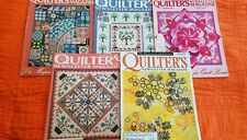 Quilter's Newsletter Magazines 1988, '85, '86, '94, 2002 Quilt Lovers Magazine