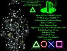 🎮 Prochain Officiel Sony PlayStation Contrôleur Boutons Gamer Gaming Peignoir