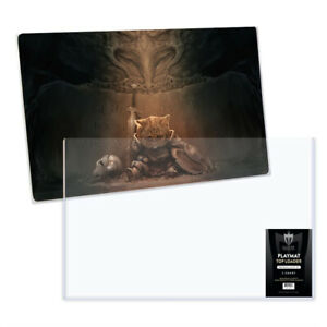 Max Pro 24x14 Playmat Protection Topload Toploader Holders Protecters 5 ct pack
