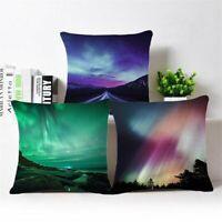 18inch Starry Sky Linen Cotton Pillow Case Cushion Cover Throw Home Sofa Decor