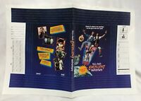 Vintage 1989 Bill & Ted's Excellent Adventure Movie Poster School Book Cover