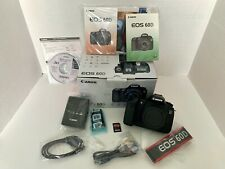 Canon EOS 60D 18.0MP DSLR Camera, Body Only, Excel Cond., Low Shutter, Free Ship