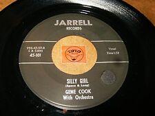 GENE COOK - SILLY GIRL - ANN MARIE   / LISTEN - TEEN POPCORN