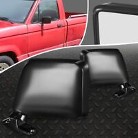 New 83-92 Ford Ranger Pickup 84-90 Bronco Mirror Manual Foldaway LH/&RH Set of 2