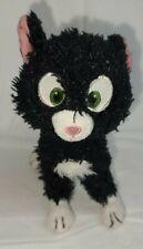 "RARE Official DISNEY Store Exclusive MITTENS Bolt Cat Kitten 10"" Plush"