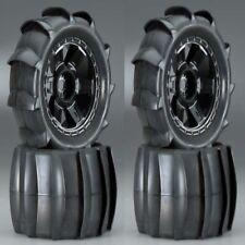 "New Pro-Line Sling Shot Tires w/ Desperado Wheels (4) 1179-11 3.8"" 40 Series"