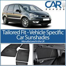 Ford Galaxy 5dr 06-15 UV CAR SHADES WINDOW SUN BLINDS PRIVACY GLASS TINT BLACK