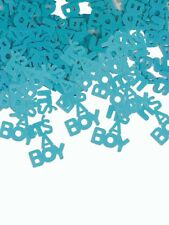 IT'S A BOY CONFETTI BLUE 1/2oz bag Shower Party Table Decoration Balloon 1-1