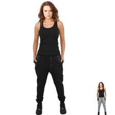 Lange Damen-Sporthosen-Stil aus Baumwolle ohne Muster