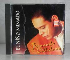 Latin FERNANDO (Fernandito) VILLALONA **El Niño Mimado** ORIGINAL 1993 USA CD