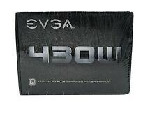 EVGA 430w 430 Watts 80 + Plus PSU Brand New Power supply unit (100-W1-0430-KR)