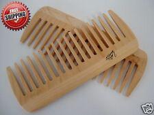 Wood Hair Comb Natural Wood Spa Comb   BUY 1 GET 1 FREE