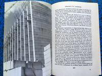 1968 MEMOIRES D'UN ARCHITECTE POUILLON ARCHITECTURE LIVRE ILLUSTRE PHOTOS BOOK