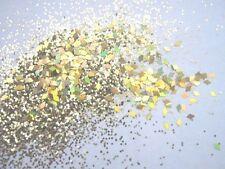 3g pot Nsi Pre-mezclado brillo acrílico powder-gold - Diamantes Nail Art Mix