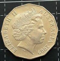 2009 AUSTRALIAN 50 CENT COIN