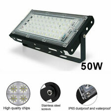 50W 50LED Lampe Projecteur Flood Light Lumière Extérieur Jardin Sécurité IP65 FR