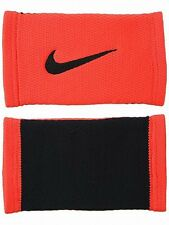 Nike Roger Federer Limited Edition Dri-Fit Stealth Swoosh Tennis Wristbands Red
