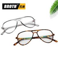 Vintage Aviator Myopia Eyeglass Frame Big Frame Computer Glasses Spectacles Rx