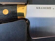 "Bob Kramer by Zwilling 10"" Euroline Carbon Chef's Knife - New in Box"
