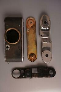 lot of various Leica parts, as pictured