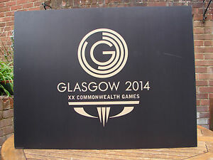 Commonwealth Games Glasgow 2014 Sign Large Wall Art Global Shipping