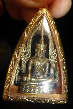 PHRA BUDDHA CHINNARAT KRING AMULET + PHA YANT + FOR LUCK & HEALTH