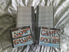 Games & Goodies/Now Games Amiga CD32/CDTV VGC NEW 2x 25+50cds offer £35.00
