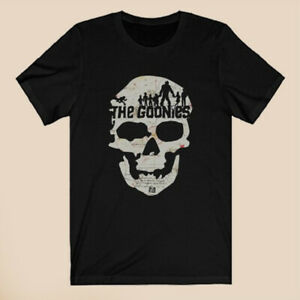 The Goonies Skull Island Logo Men's Black T-Shirt Size S-3XL