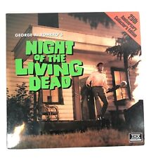 NIGHT OF THE LIVING DEAD Laserdisc 25th Anniversary Collector's Edition