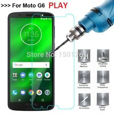 Genuine TEMPERED GLASS Screen Protector Cover for Motorola Moto G6 Play