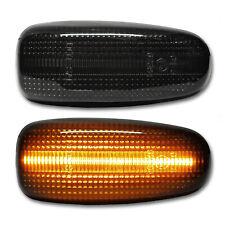 SCHWARZE LED Seitenblinker Mercedes E W210 CLK 208 SLK R170 Vito W638 Sprinter