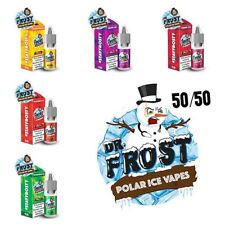 Dr Frost New 50-50 E-Liquid - 10ml Bottles TPD Compliant (6mg,12mg,18mg) E juice