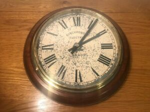 Synchronome Electric of London Wall Clock