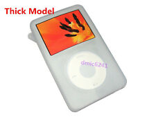 White Silicone Skin Cover Case for iPod Video 5/5.5 60/80GB Classic THICK Model