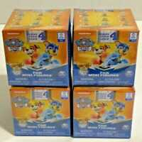 Lot of 4 New Paw Patrol MIGHTY PUPS Series 4 Paw Mini Figures Blind Box Unopened