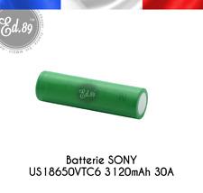 4 Set Powercig Batterie Rechargeable Sony 18650 Vtc6 3000 mAh 3 6v Li-ion 30a