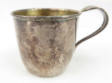 """Vintage Remembrance Silver Plate Soldered Baby cup 1847 Rogers Bros EPNS 2""""1/2"""