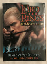 Lord of the Rings Realms Of The Elf-Lords 60-card Legolas Deck Trading Card Game