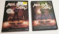 Ash Vs. Evil Dead Complete First Season (OOP 2016 DVD, 2-Disc Set) Sensormatic