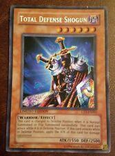 TOTAL DEFENSE SHOGUN CT1-EN001 Secret Rare P Yugioh + BONUS Cards! Fast Ship!