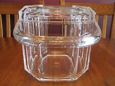 Gorgeous William Bounds Grainware Crystalon Acrylic 3 Quart Covered Ice Bucket
