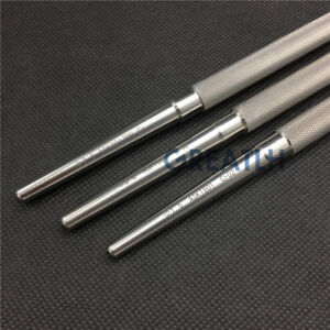 3PCS kirschner wire punch Pin punch Drills Veterinary orthopedics Instruments