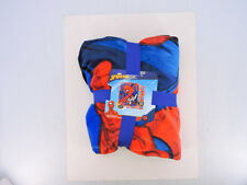"""Marvel's Spider Man """"Fast Spider"""" Double Sided Cloud Throw 60 X 70 Soft & Cozy"""