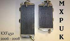 KXF450 2008 RADIATORS MXPUK PERFORMANCE RADS 2008 KXF 450 KX450F 08 (020)
