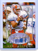 DANNY WUERFFEL 1997 AUTOGRAPHED COLLECTION ROOKIE CARD! FLORIDA GATORS LEGEND!!