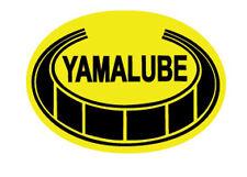 YAMAHA VINTAGE YAMALUBE DECAL GRAPHIC LIKE NOS GRAPHIC (LARGER SIZE SINGLE OVAL)