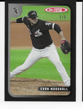 2020 Topps Total Black #627 Evan Marshall Chicago White Sox 1/5 Wave 7